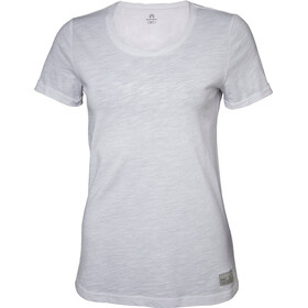 North Bend Slub T-shirt manches courtes Femme, white